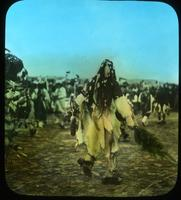 Thumbnail for Herder in buckskin suit. 1910: A87