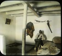 Thumbnail for Interior of Taos home. 1902. South Pueblo: A100