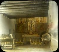 Thumbnail for Interior of church at Taos: B6