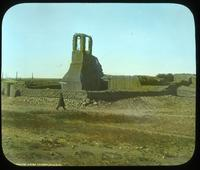 Thumbnail for Ruined tower and churchyard (north). 1902. Ruins of old mission: B8
