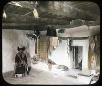 Thumbnail for Interior of one of best Hopi homes. Walpi, Ariz. 1899: B26