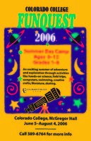 Thumbnail for Colorado College Funquest 2006. Poster.