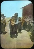 Thumbnail for Hopi group, woman holding baby. 1899. Mishongovi: B49