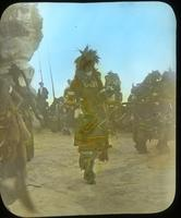 Thumbnail for Gatherer with large rattler, Snake Dance. Walpi: B54