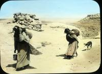 Thumbnail for Snake shrine, women carrying water to Walpi: B81