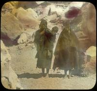Thumbnail for Hopi woman on trail to Mishongovi: B91
