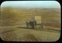 Thumbnail for Stage crossing the desert; road to Walpi. 1899: C7