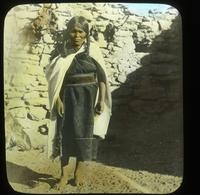 Thumbnail for Hopi woman in old characteristic costume, Hotovilla. 1917: C16