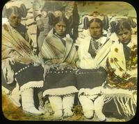 Thumbnail for Four Hopi debutantes of Oraibi. 1917: C19