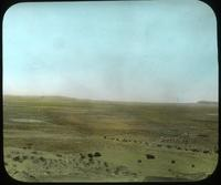 Thumbnail for View of desert from top of mesa. Walpi, Arizona. 1918: C32
