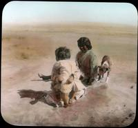 Thumbnail for Hopi children in Polacca Wash. 1918: C47