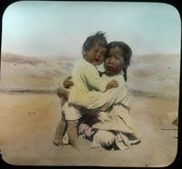Thumbnail for Little girl holding baby, Polacca Wash. 1918: C60