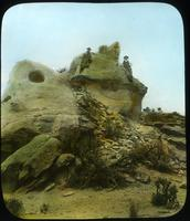 Thumbnail for Remains of Watch Tower at end of cliff. Watch Tower Ruin. Utah: D36