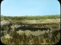 Thumbnail for Cliff Palace before 1900 removal of debris: E46