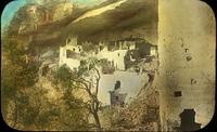 Thumbnail for Cliff Palace looking north from Round Tower. 1900: E47