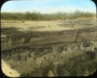 Thumbnail for Cliff Palace after debris removal before excavation. 1908: E49
