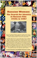 Thumbnail for Russian Woman: The Search for Identity in Russian Film 1930s to 2007. Poster.