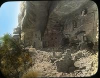 Thumbnail for Spring House, general view, after debris clearance: E71