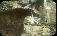 Thumbnail for Step House, before excavation and repairs: E72