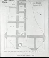 Thumbnail for Map and plan of the Three Mile Ruin (W. Wulff): E86