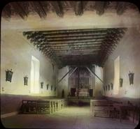 Thumbnail for Mission at Ranchos de Taos. Interior: H21