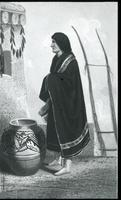 Thumbnail for Jemez woman, Kern. 1849 (photo of a painting): I71