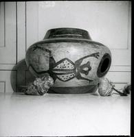 Thumbnail for Zuni ceremonial bowl with fetishes: H98