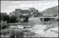 Thumbnail for Taos, north pueblo, general view - Kellogg: H35