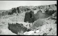 Thumbnail for Chetro Ketl. Exploratory pit #3, from southeast. 1937: F64