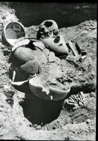 Thumbnail for Talus Unit No. 1, grave with pottery: F71