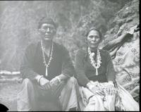 Thumbnail for Navajo Reservation. Man and wife: G92