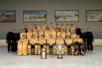 Thumbnail for Colorado College Men's Hockey. Team Photos with McNaughton Cup. 2005. CCHtrophy958