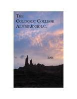 Thumbnail for Colorado College alpine journal [2006 v. 1]