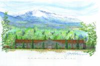 Thumbnail for Creekside Building Architect's Rendering, East Elevation