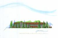Thumbnail for Creekside Building Architect's Rendering, North Elevation