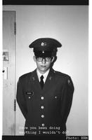 Thumbnail for Jerry W. Ahlberg in ROTC uniform