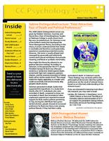 Thumbnail for CC psychology news [2007-2008 v. 1 no. 2 May]