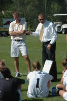 Thumbnail for Colorado College Women's Soccer. CC vs. Air Force. 2004. CCWScoach483