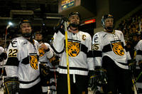 Thumbnail for Colorado College Men's Hockey. CC vs. DU. Cup Celebration. 2005. CaptainscelebDU305-265