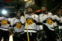 Thumbnail for Colorado College Men's Hockey. CC vs. DU. Cup Celebration. 2005. CaptainscelebDU305-266