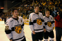 Thumbnail for Colorado College Men's Hockey. CC vs. DU. Cup Celebration. 2005. CaptainsDU305-273
