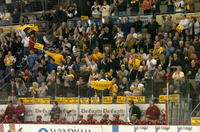 Thumbnail for Colorado College Men's Hockey. CC vs. DU. Cup Celebration. 2005. DUBenchFansDU305-221