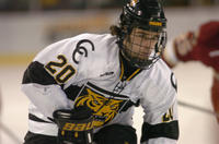 Thumbnail for Colorado College Men's Hockey. CC vs. DU. Cup Celebration. 2005. PolichbreakawayDU305-119