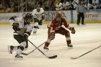 Thumbnail for Colorado College Men's Hockey. CC vs. DU. Cup Celebration. 2005. PolichrushDU305-076