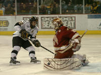 Thumbnail for Colorado College Men's Hockey. CC vs. DU. Cup Celebration. 2005. SertichshotDU305-009