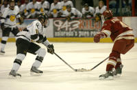 Thumbnail for Colorado College Men's Hockey. CC vs. DU. Cup Celebration. 2005. SlattengrenrushDU305-061