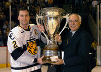 Thumbnail for Colorado College Men's Hockey. CC vs. DU. Cup Celebration. 2005. StuartCupDU305-282