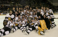 Thumbnail for Colorado College Men's Hockey. CC vs. DU. Cup Celebration. 2005. TeamCupDU305-307