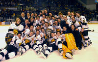 Thumbnail for Colorado College Men's Hockey. CC vs. DU. Cup Celebration. 2005. TeamtrophyDU305-307