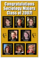 Thumbnail for Congratulations sociology majors class of 2007!